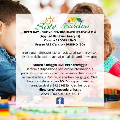APERTURA CENTRO DUBINO: Incontro Per Genitori